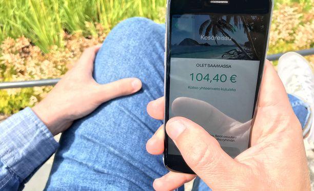 WeSharella jaetut maksuosuudet on helppo kuitata MobilePayn avulla.