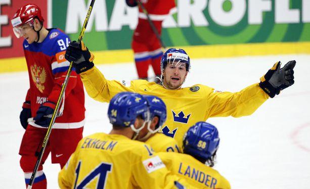 Ruotsi sai iloita hetken.