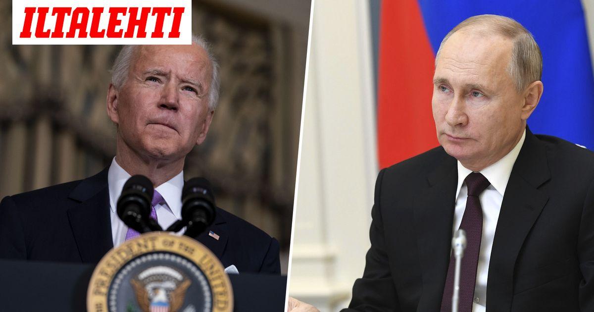 Joe Biden: sopu ydinasesopimuksen jatkosta, myös Navalnyi esillä