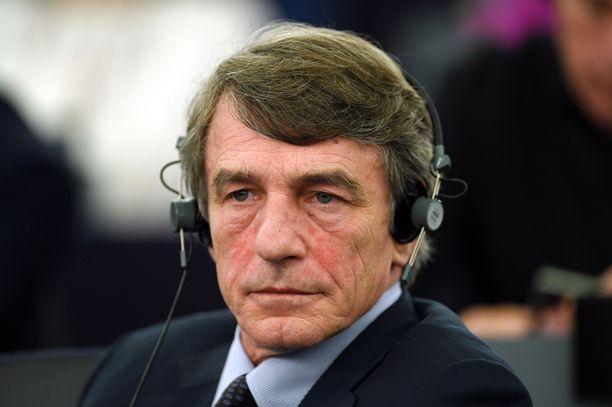 David Sassoli on työskennellyt europarlamentaarikkona 10 vuotta.