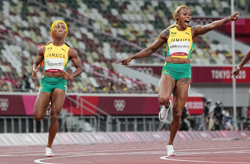 Tämä juoksu jää historiaan – katso mykistyttävä 100 metrin finaali, ennätyksen rikkoja juhli voittoaan yksin
