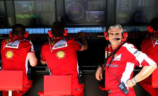 Maurizio Arrivabene ei ollut tyytyväinen tallinsa suorituskykyyn Silverstonessa.