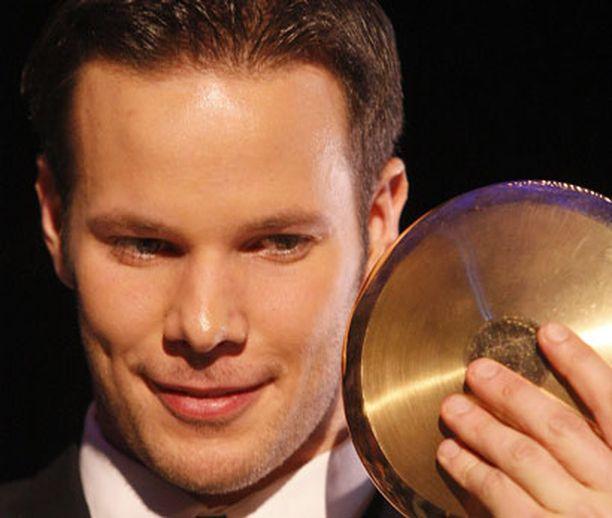 Tero Pitkämäki valittiin Vuoden urheilijaksi 2007.