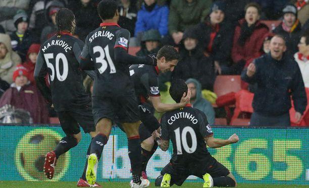 Philippe Coutinhon osuma lukeutuu kauden hienoimpiin.