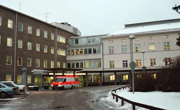 Marian äiti saapui kyseiselle osastolle viikko sitten. Kuvassa Malmin sairaala.