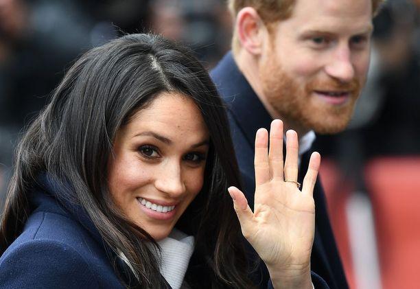 Prinssi Harry ja Meghan Markle menevät naimisiin 19. toukukuuta.