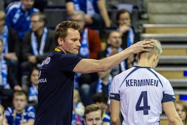 Lauri Kerminen ja Tuomas Sammelvuo olivat yhdessä muun muassa Suomen maajoukkueessa ennen kuin Sammelvuo sai paikan Venäjän maajoukkueesta.