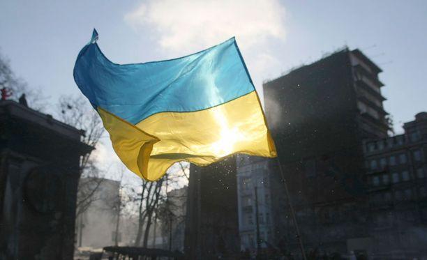 Yli 500 ihmistä kokoontui Kiovaan vastustamaan perustuslakimuutoksia.