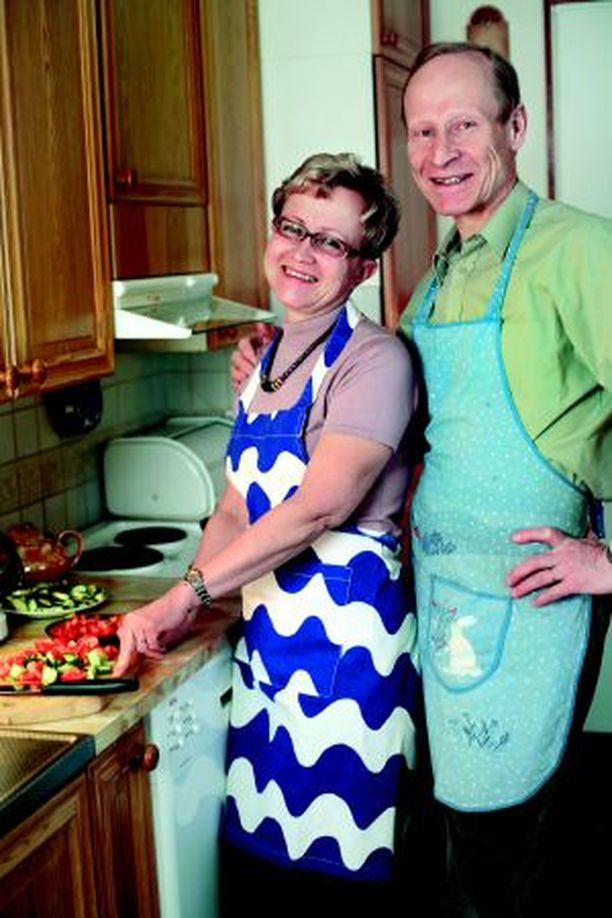 Lasten muutettua kotoa Marja-Terttu ja Timo Ritvanen ovat hankkineet yhteisiä harrastuksia.