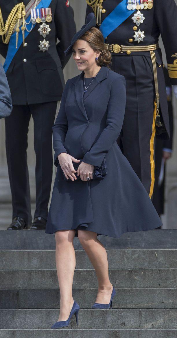 Catherine suosi merkkiä raskausaikanaankin.