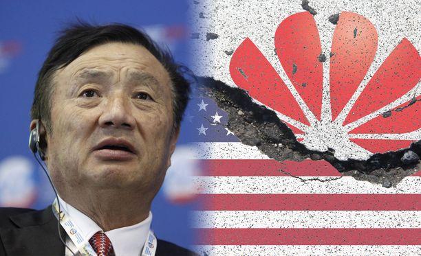 Huawein perustaja Ren Zhengfei kommentoi kauppasotaa.