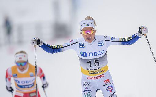 """Frida Karlssonille hävinnyt Therese Johaug myöntää Norjan karmaisevan taktiikkavirheen: """"Aivan selvää, että minunkin olisi pitänyt vaihtaa"""""""
