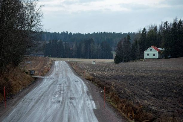 Joulu 2013 oli lumeton suurimmassa osassa Suomea. Tämä kuva on Salosta joulun alta 2013.