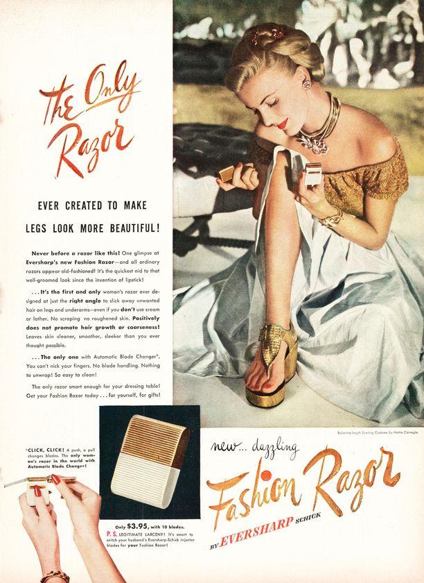 Mainos vuodelta 1947.