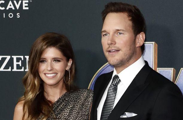 Katherine Schwarzeneggerilla ja Chris Prattilla on kymmenen vuoden ikäero. Pari avioitui reilussa puolessa vuodessa.