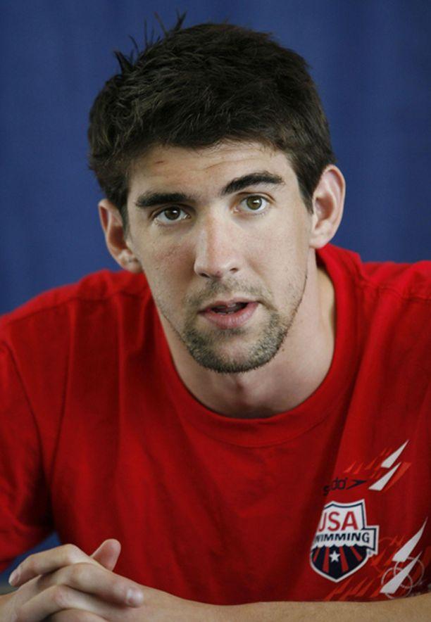 Michael Phelps töppäili jälleen.