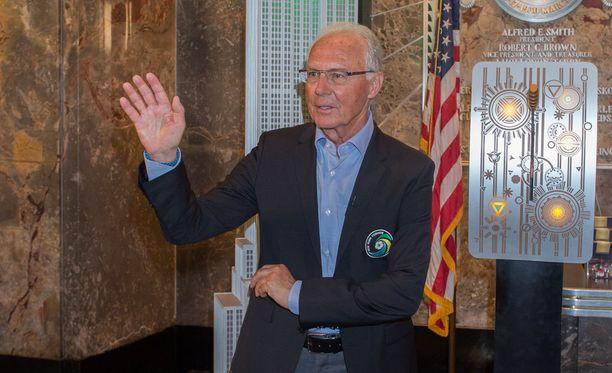 Franz Beckenbauerkin ajautui lahjuskohun keskelle.
