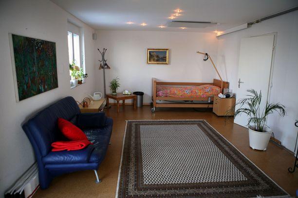 Tältä näytti Dignitaksen huoneessa vuonna 2010.