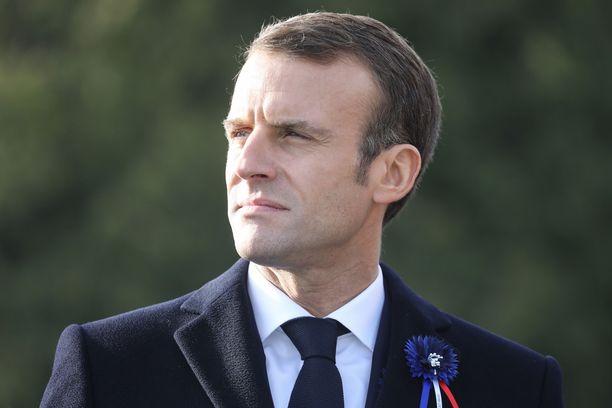 Emmanuel Macron isännöi viikonloppuna ensimmäisen maailmansodan päättymisen satavuotisjuhlia.
