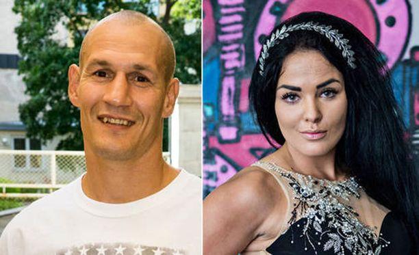 Amin ja Nadia julkistivat suhteensa viime kesänä.