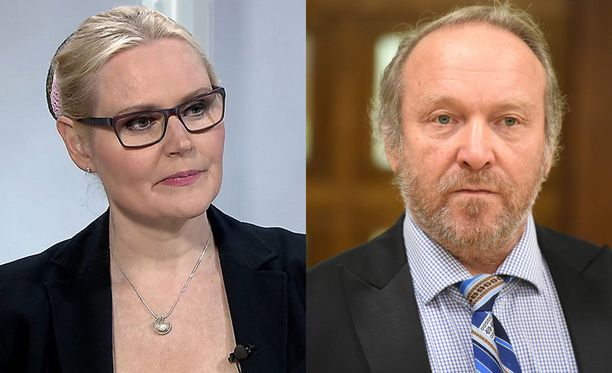 Veera Ruoho ja Teuvo Hakkarainen kohtaavat Helsingin käräjäoikeudessa.