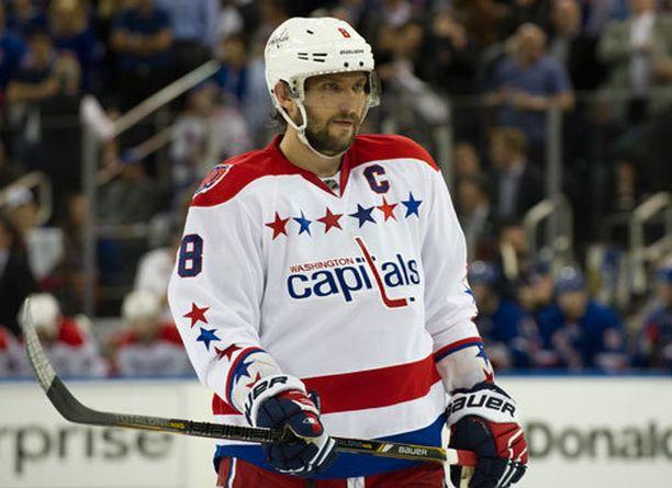 Aleksander Ovetshkin on valittu kolme kertaa NHL:n arvokkaimmaksi pelaajaksi.