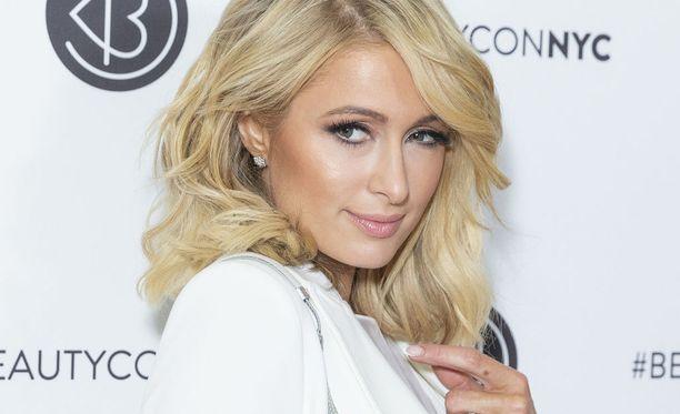 Paris Hilton kuvattuna New Yorkissa viime kuussa.