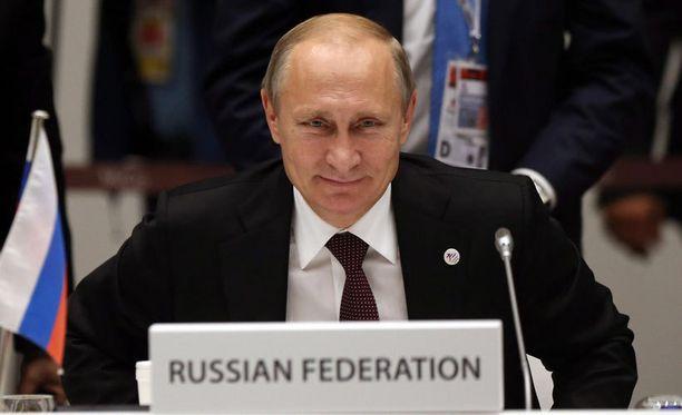 Putinin virallinen julkisuuskuva on äärimmäisen kiilloteltu.