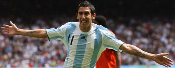 Angel Di Maria nousi Argentiinan sankariksi.