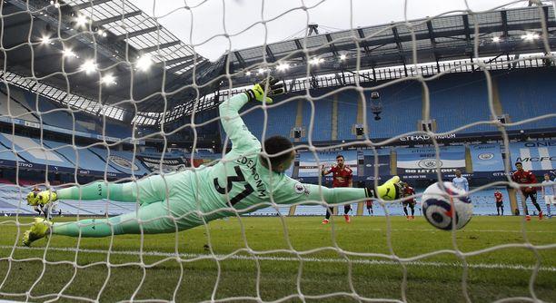 Bruno Fernandesin toisen minuutin pilkku antoi alkusävelet Manchester Unitedin vierasvoitolle.