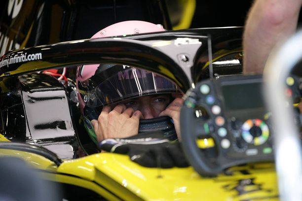 Daniel Ricciardo on kerännyt kuusi MM-pistettä Renault'lla.