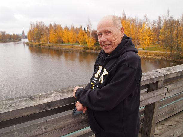 """""""Mr. Jazz"""", Jyrki Kangas, kantaa huolta Porin alueen ympäristön tilasta."""