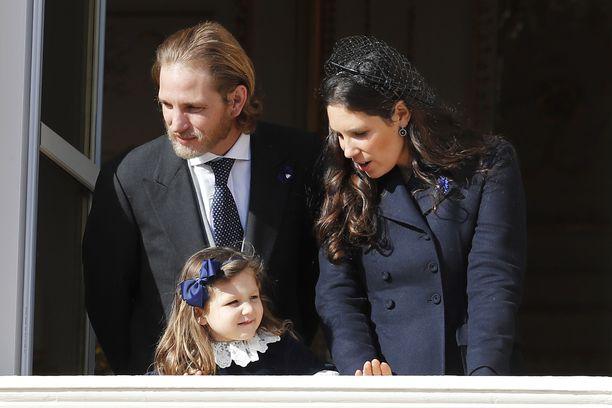 Tatiana Santo Domingo ja tytär India olivat valinneet juhlapäivään samanväriset vaatteet.