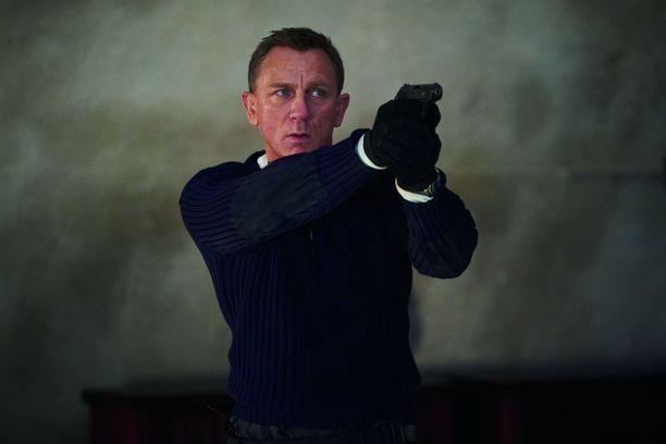 Daniel Craig nähdään viimeistä kertaa James Bondina.