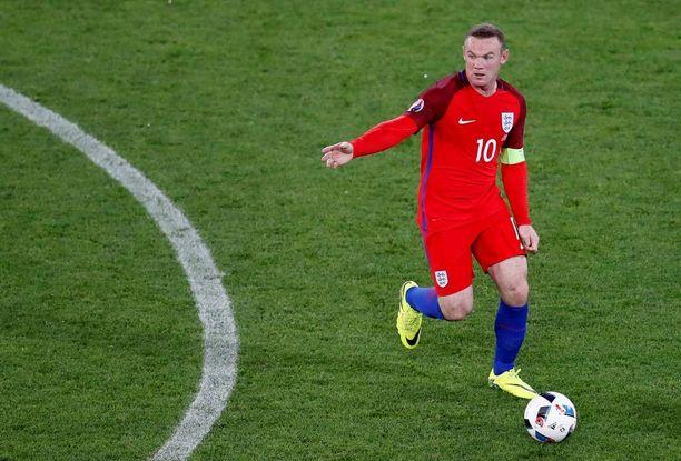 Wayne Rooney on Englannin hyökkäyksen moottori.