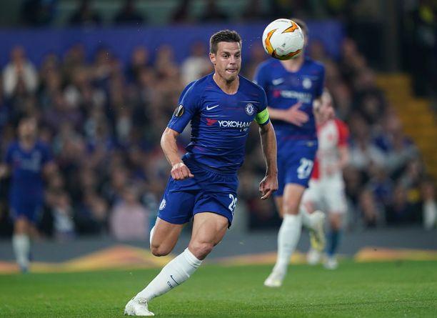 César Azpilicuetan Chelsea kohtaa illalla Burnleyn.