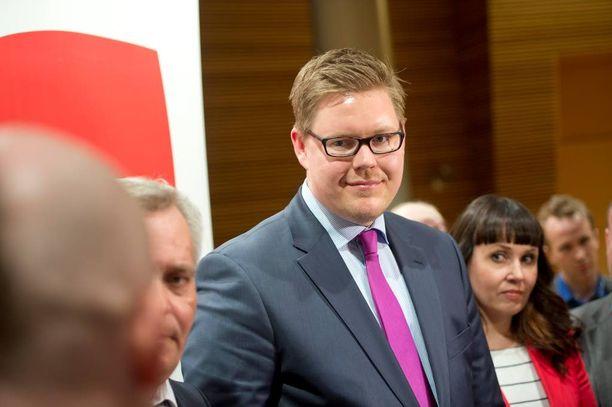 Antti Lindtman, SDP
