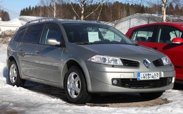 Vuoden 2007 Renault Mégane on yksi ikäluokan hylätyimmistä malleista.