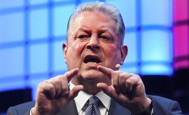 Yhdysvaltain ex-varapresidentti Al Gore on poliittisen uransa jälkeen kunnostautunut taistelussa ilmastonmuutosta vastaan.