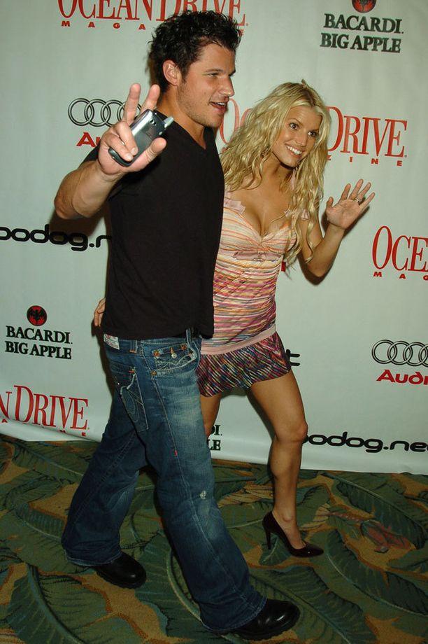 Jessica ja Nick vuodelta 2005.