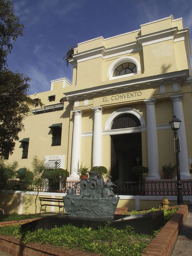 El Convento on koko Amerikan vanhimpia hotelleja.