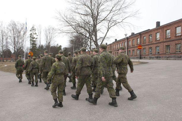 Kuvituskuva. Valmiusyksiköihin pyritään Puolustusvoimien mukaan valitsemaan varusmiehiä, jotka ovat kiinnostuneita toimimaan niissä.