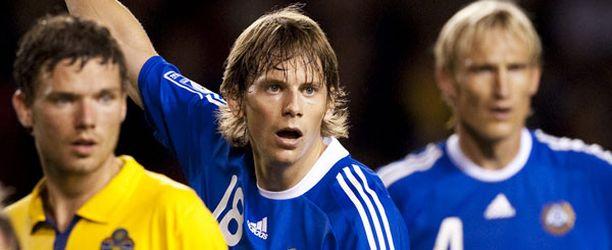 Kasper Hämäläinen on edustanut Suomea A-maajoukkuetasolla.