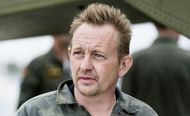 Keksijä Peter Madsenia syytetään toimittaja Kim Wallin murhasta.