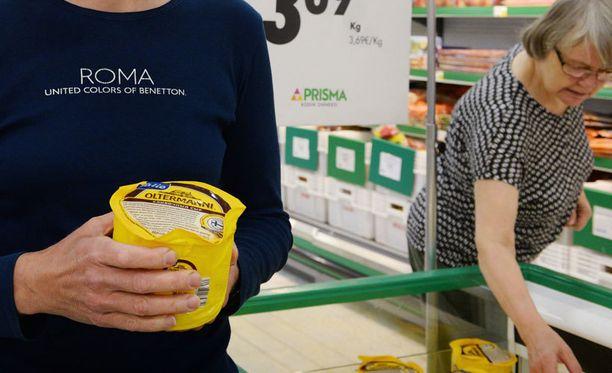Kannelmäessä hamstrattiin juustoa perjantaina.