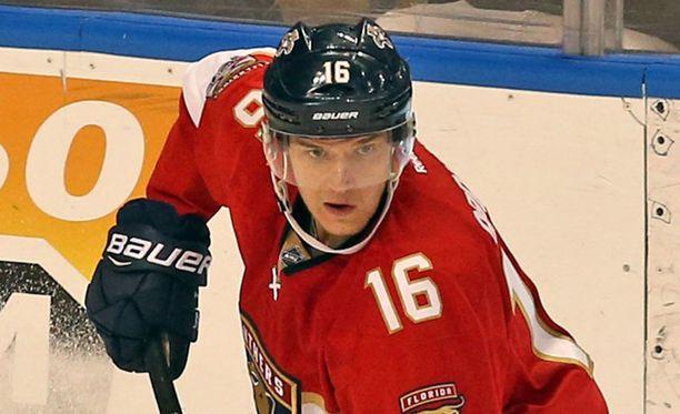 Aleksander Barkov valittiin Panthers-Sabres-ottelun kolmostähdeksi.