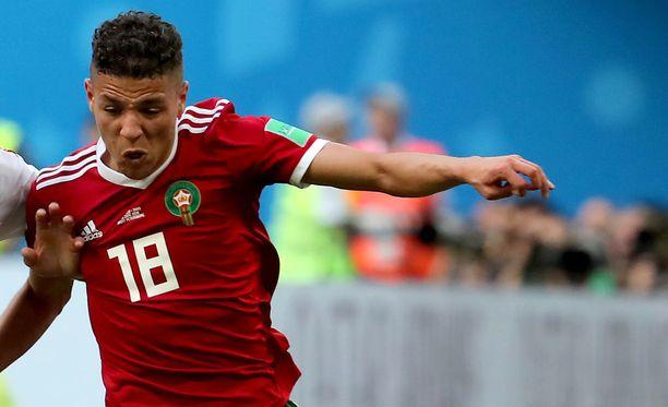 Amine Harit on lupaava marokkolaispelaaja.