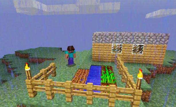 Minecraftissa voi vaikka perustaa oman maatilansa.