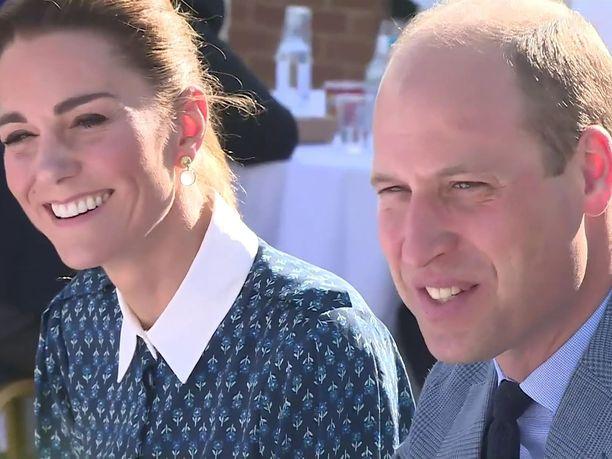 Prinssi William ja herttuatar Catherine lahjoittavat säätiönsä kautta 1,8 miljoonaa puntaa kymmenelle eri organisaatiolle.