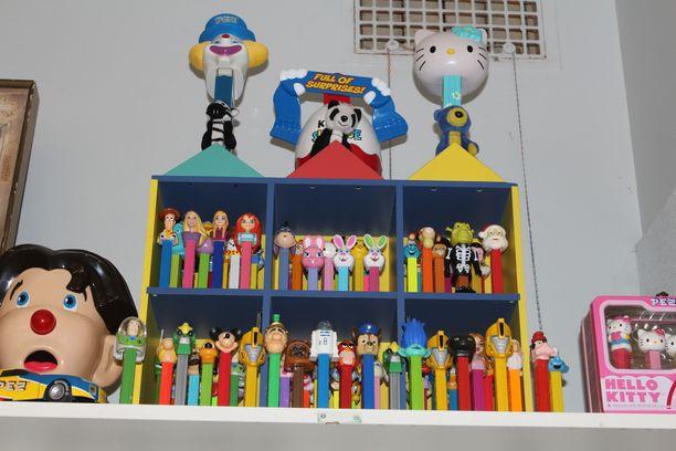 Pez-hahmot ovat monelle lapsuudesta tuttuja.